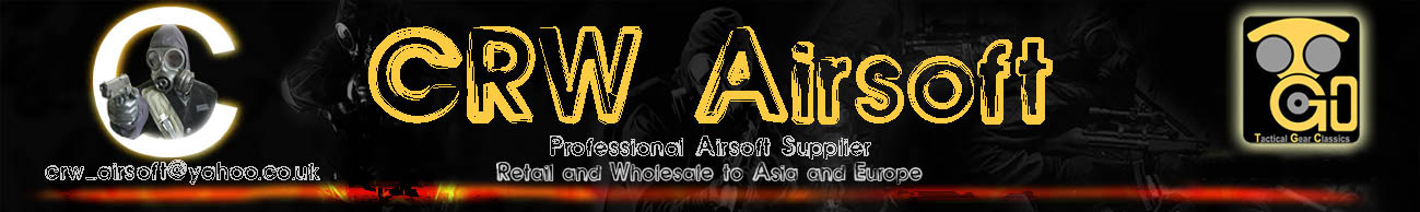 CRW Airsoft and Tactical equipment Hong Kong