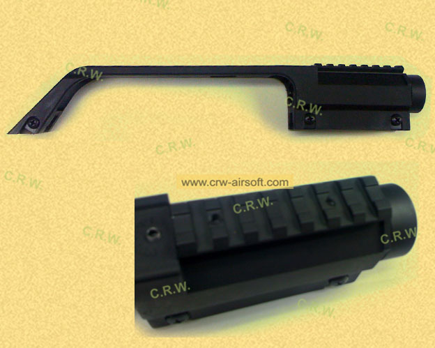 G36 Carrying handle with scope & rail