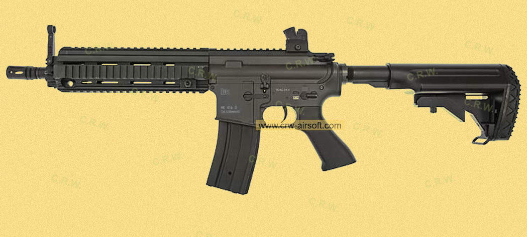 HK416 with battery stock by Jing Gong 6621